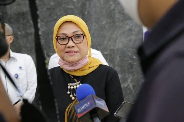 Menaker Ida Fauziah Pastikan Subsidi Gaji Tahap III Cair