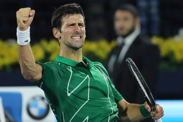 Usai Insiden Memalukan di US Open, Djokovic Janji Bangkit di Roma