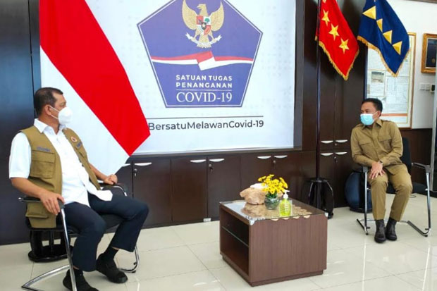 Temui Kepala BPNB, Ilham Azikin Bahas Penanganan COVID-19 di Bantaeng