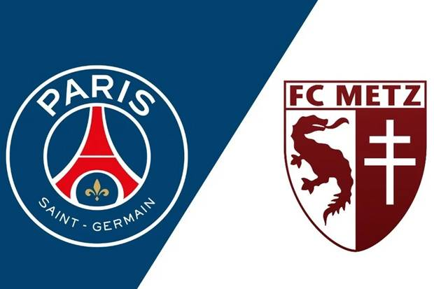Susunan Pemain Paris Saint Germain (PSG) vs Metz