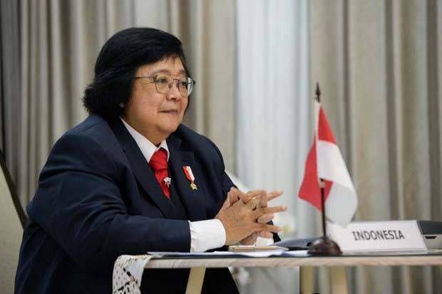 Penjelasan Menteri LHK dalam Atasi Degradasi Lahan dan Terumbu Karang