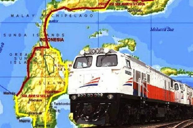 Tahun 2022 Warga Sulawesi Bisa Halan-Halan Naik Kereta Api