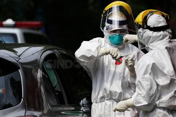 Total Suspek Covid-19 di Indonesia Menjadi 104.866 Orang