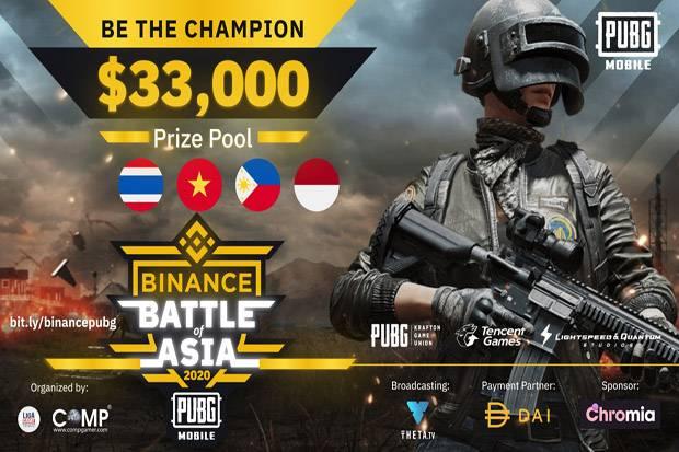 Binance Gelar Turnamen Esports di Asia dengan Hadiah Rp500 Juta