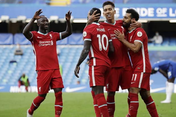 Liverpool Bungkam Chelsea di Stamford Bridge