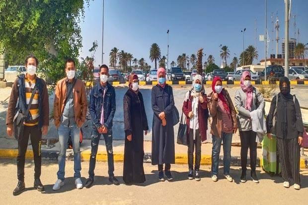 Terhambat Lockdown, 9 Pekerja Migran WNI Dipulangkan dari Libya