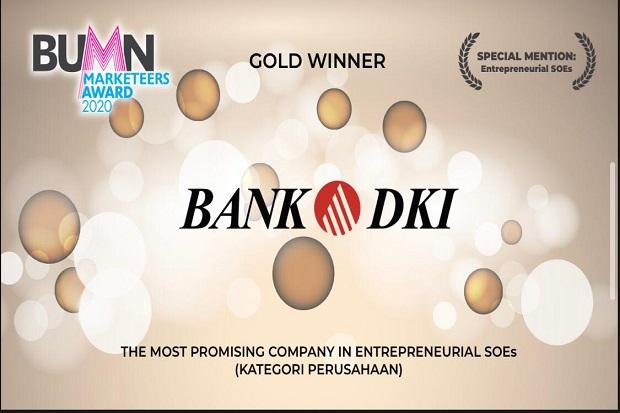 Lagi dan Lagi, Bank DKI Kembali Sabet Penghargaan