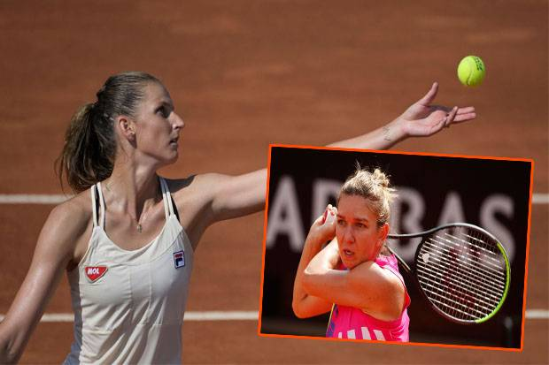 Simona Halep vs Karolina Pliskova Duel Mantan Ratu Tenis di Final