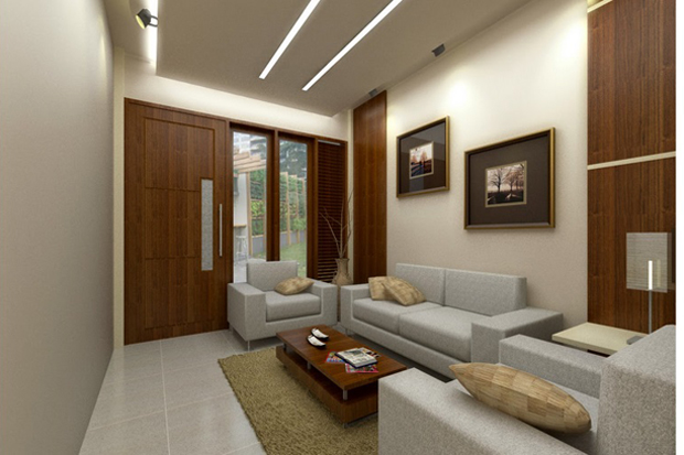 Mempercantik Ruang Tamu Minimalis Di Rumah Tipe 45