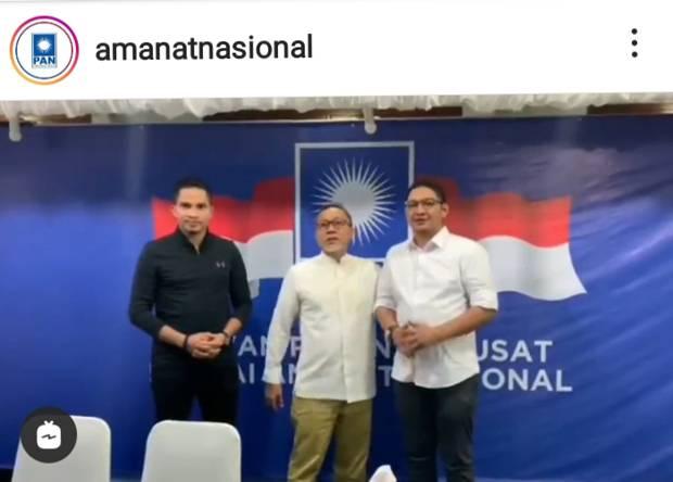 Pasha Ungu Ditunjuk Jadi Ketua DPP PAN, Mumtaz Rais Ucapkan Selamat