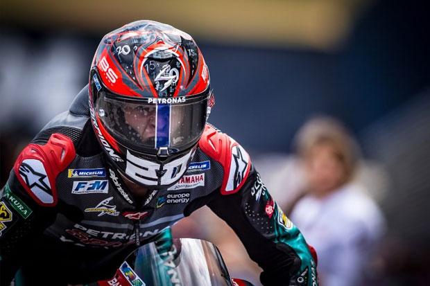 Rossi Terjatuh, Quartararo Jadi Tercepat di MotoGP Catalunya