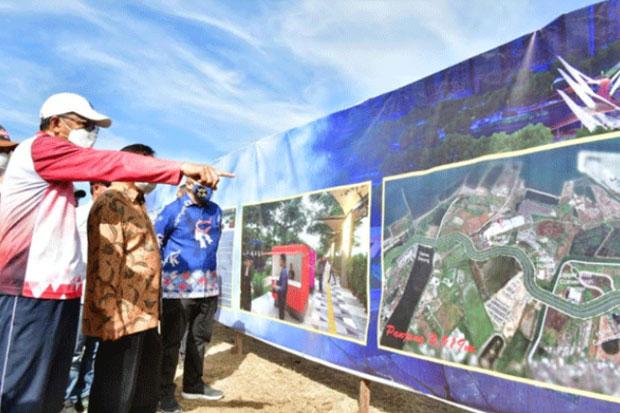 Pemenang Proyek Jalur Pedestrian Metro Tanjung Bunga Ada di Tangan Dinas PU