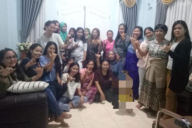 Emak-emak di 19 Kecamatan Tana Toraja Siap Menangkan Albert-John