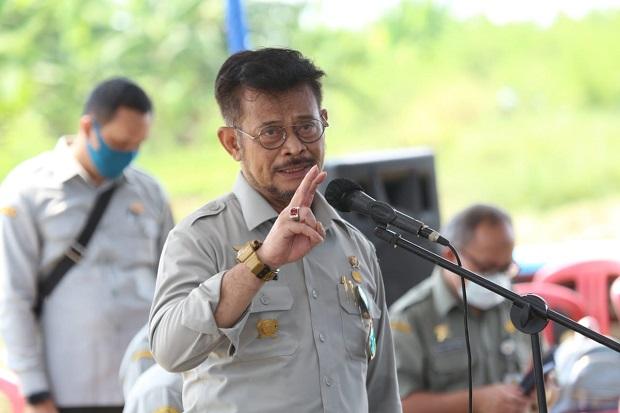 Panen Padi di Aceh, Mentan SYL Berterima Kasih kepada Kopasus