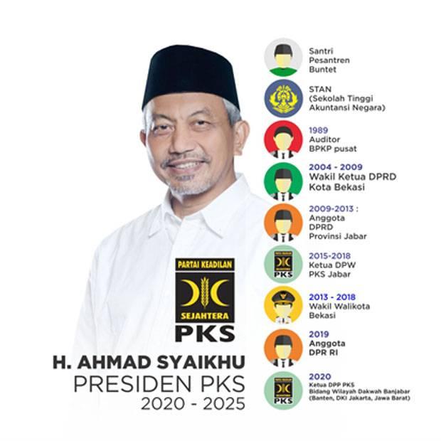 Terpilih Menjadi Presiden PKS, Ini Profil Ahmad Syaikhu