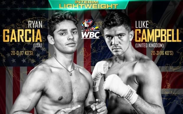 Pertarungan Terpanas Ryan Garcia vs Luke Campbell Guncang Desember