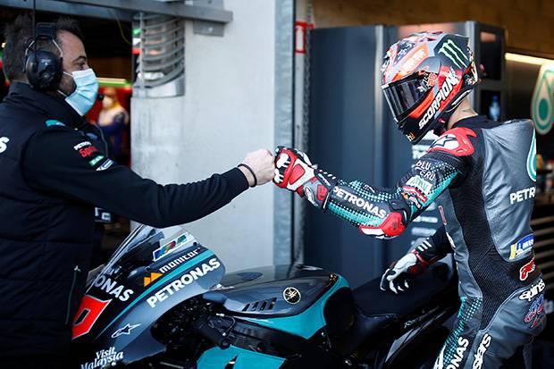 Quartararo Tercepat di Latihan Bebas Ketiga MotoGP Prancis 2020