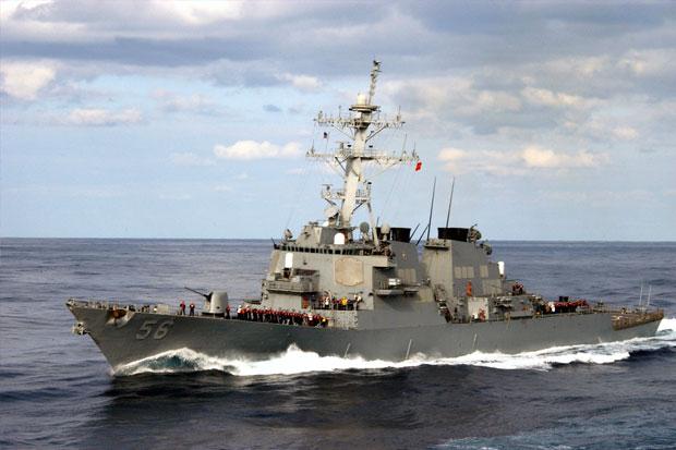 Kapal Perang AS Masuk Laut China, Beijing Sebut Tindakan Provokasi