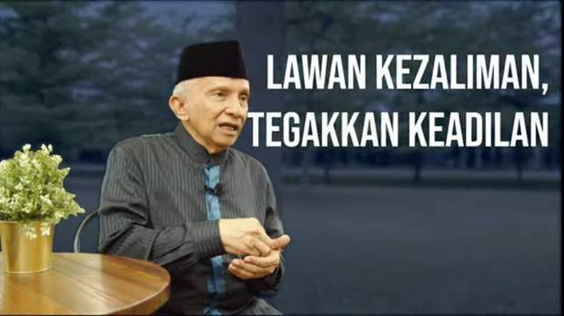 Bagian Akhir Pernyataan Gatot Nurmantyo dkk Mirip Tagline Partai Ummat Besutan Amien Rais