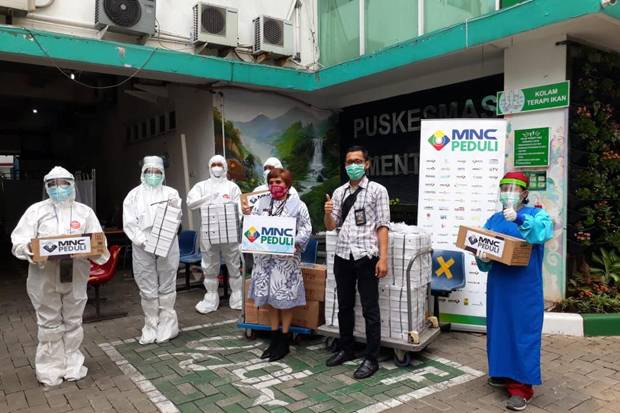 MNC Peduli Salurkan Bantuan ke Puskesmas Kebon Sirih, Menteng dan Pegangsaan