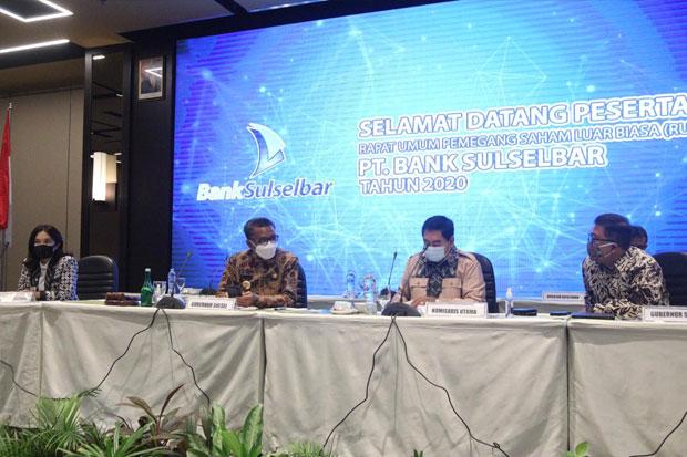 Gubernur Usul Amri Mauraga Jabat Plt Dirut Baru Bank Sulselbar