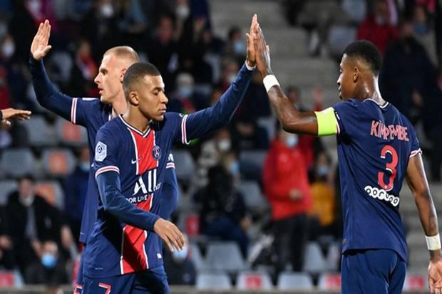 Mbappe Borong Dua Gol, PSG Pimpin Klasemen Ligue 1