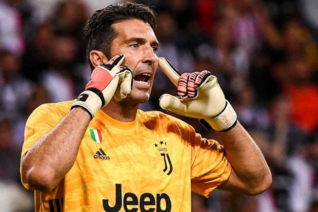 Jelang Juventus vs Crotone; Buffon Menyambut Laga ke-650 Serie A, Ramsey-Ronaldo Absen