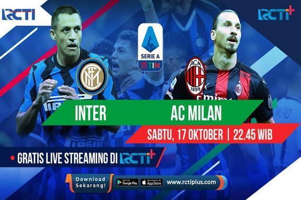 Susunan Pemain Inter Milan vs AC Milan