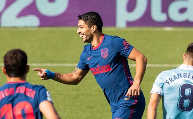 Suarez Jadi Penentu Kemenangan Atletico Madrid di Markas Celta Vigo
