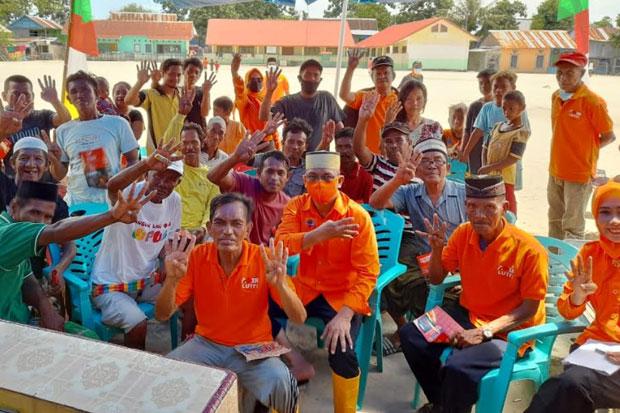 Anir-Lutfi Panen Dukungan Tokoh Masyarakat di Kepulauan