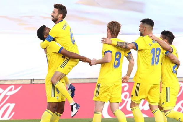 Kejutan, Real Madrid Ditumbangkan Cadiz