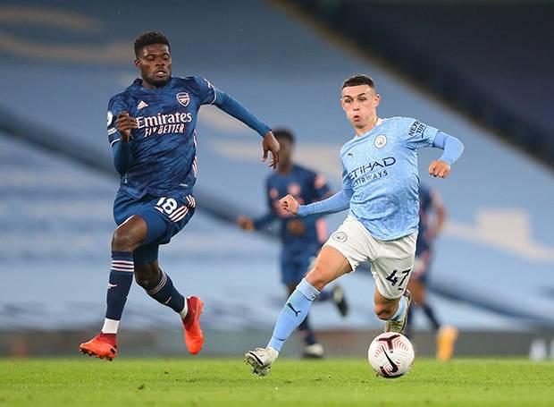 Debut Thomas Partey Warnai Kekalahan Arsenal di Markas Manchester City