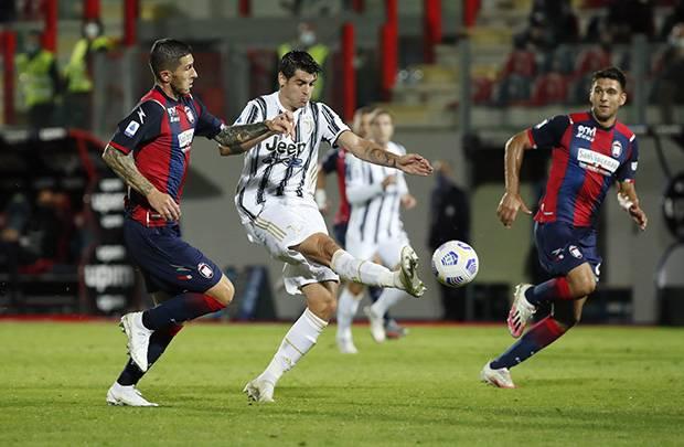 Tanpa Ronaldo, Juventus Ditahan Imbang Crotone