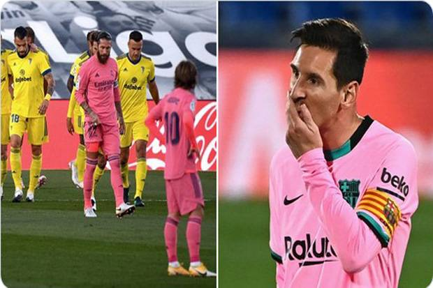 Real Madrid dan Barcelona Ulangi Catatan Minor 17 Tahun