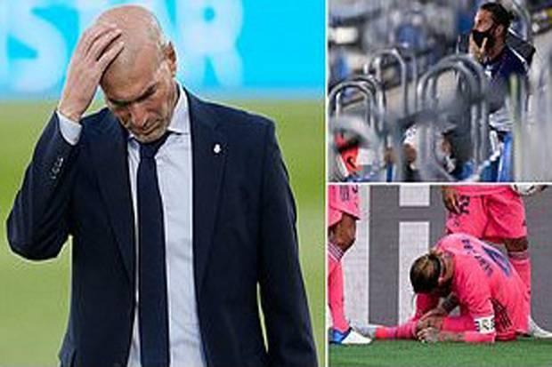 Zidane Beberkan Kondisi Sergio Ramos