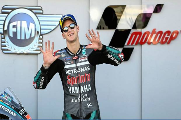 Quartararo Siap Berjuang Rebut Podium di MotoGP Aragon meski Kurang Enak Badan