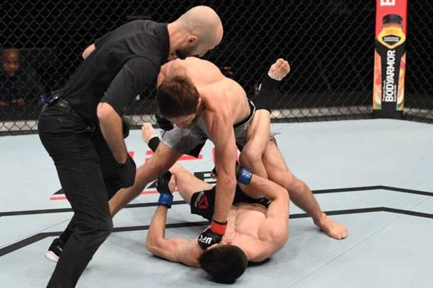 Siapa Said Nurmagomedov Robohkan Mark Striegl hanya 51 Detik di UFC Fight Night?