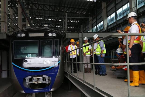 Produsen Kereta Jepang Tak Tertarik Lagi dengan Proyek MRT
