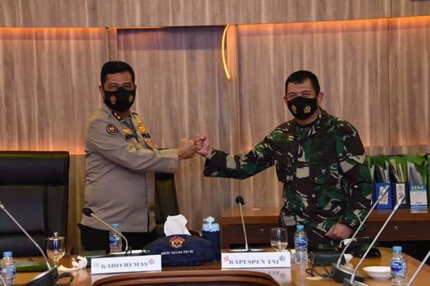 Kapuspen Sebut Sinergitas TNI-Polri Tak Perlu Diragukan
