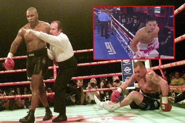 Garang Mana? Mike Tyson 19 KO 12 KO Ronde 1, Berlanga 15 Duel 15 KO Ronde 1