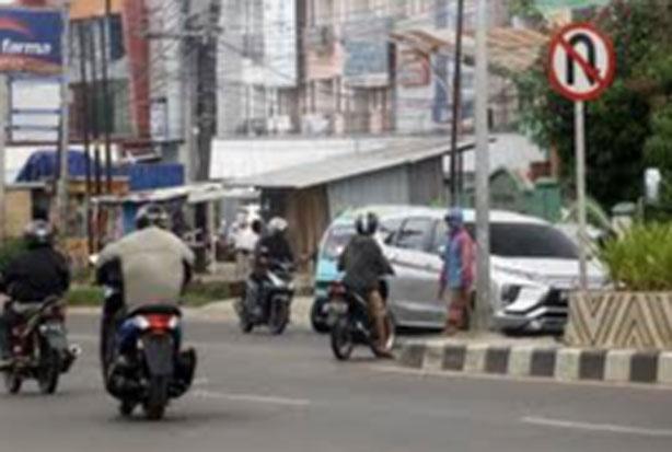 20 Titik Putar Balik Kendaraan di Kota Makassar Bakal Ditutup