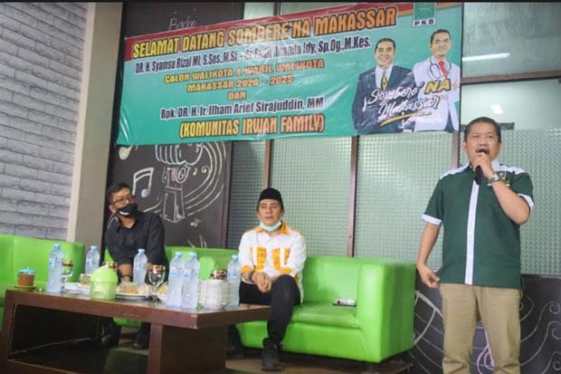 Komunitas Keluarga Legislator Sulsel Dukung Deng Ical-Fadli Ananda