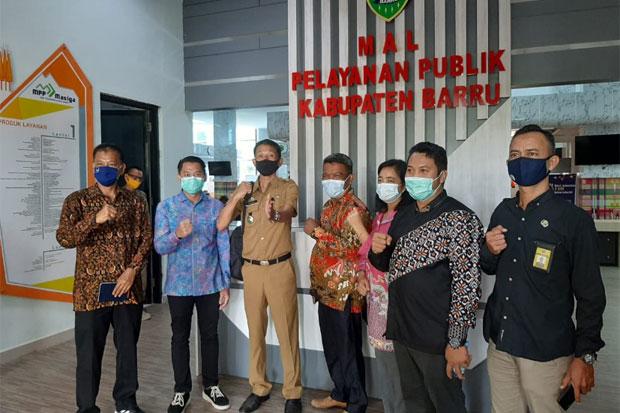 DPRD Tarakan Belajar Pelayanan Publik di Barru