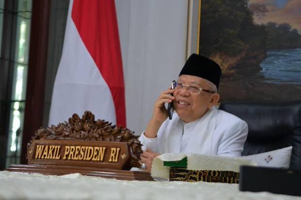 Wapres Ma'ruf Amin Ungkap Potensi Pesantren Jadi Motor Penggerak Ekonomi