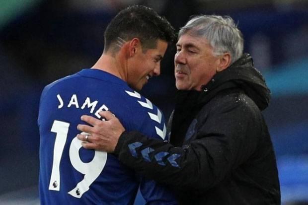 Ancelotti Semringah James Rodriguez Cepat Pulih Jelang vs Southampton