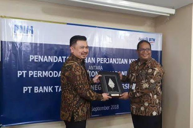 PNM, BTN & Bank Permata Syariah Sinergi Perkuat Modal