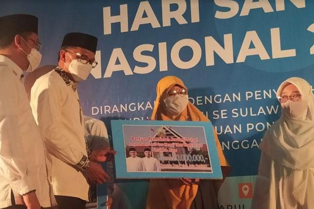 Hari Santri Nasional, Ribuan Guru Mengaji di Sulsel Dapat Bantuan Insetif