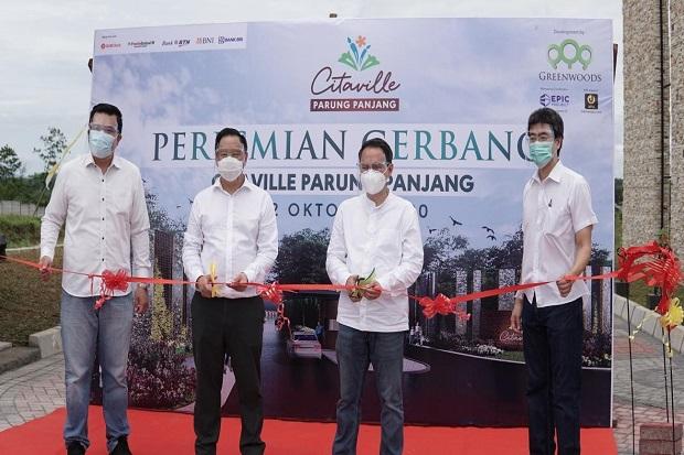 Greenwoods Group Resmikan Gerbang Utama Citaville Parung Panjang