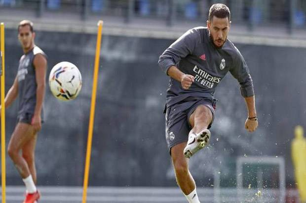 Hazard Masuk Daftar 21 Pemain Madrid Lawan Borussia Monchengladbach