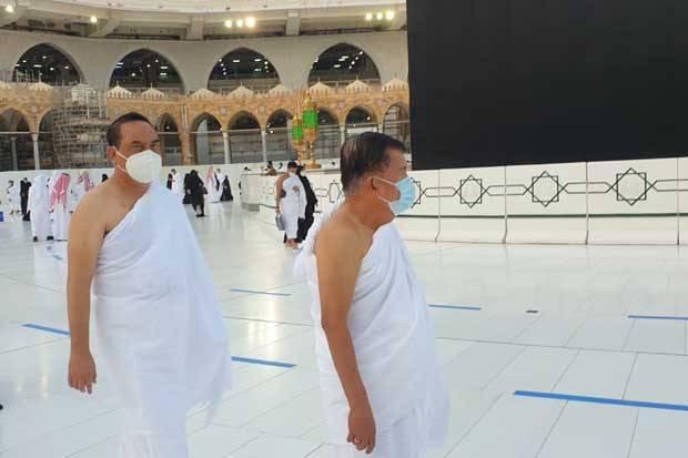 Dari Vatikan dan Riyadh, JK dan Rombongan Umrah di Tanah Suci